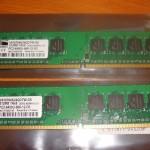 メモリ交換 1GB -> 4GB