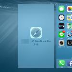Mac と iPhone 間でのブラウザページ共有