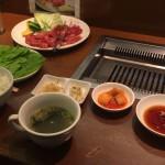 京橋 韓国レストラン 明月館