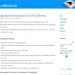WordPressでHighslide