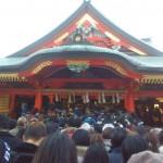初詣 成田山 大阪別院