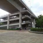 菅原城北大橋を自転車で渡ってみた