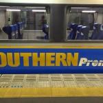 南海電車 特急サザン 座席指定券