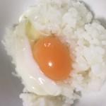 ちょい茹で卵でTKG